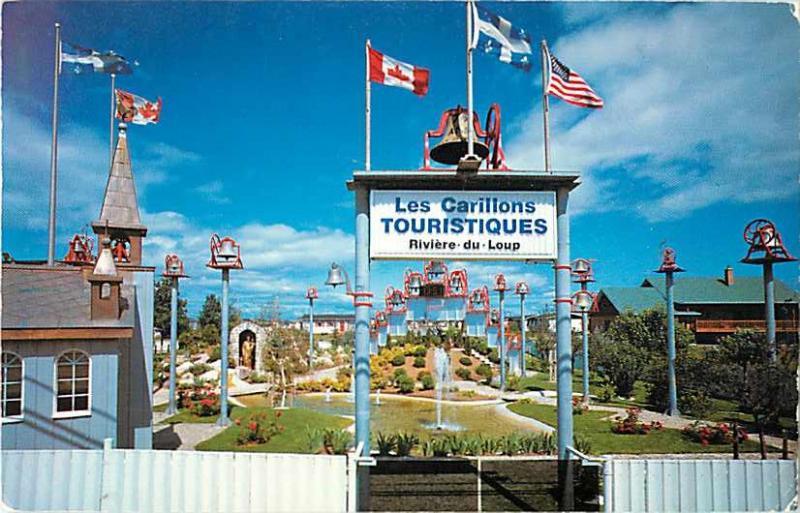 Le Carillon Touristique Riviere-Du-Loup P.Q.Quebec Canada Chrome