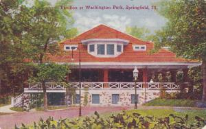 SPRINGFIELD, Illinois, 1900-1910's; Pavilion At Washington Park
