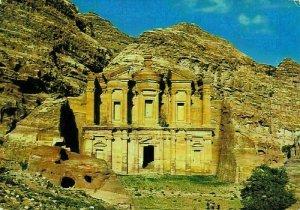 Jordan View of Eddeer at Petra Postcard