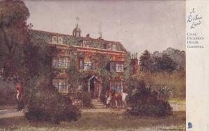 TUCK #1163, Chas. Dickens' House, Gadhill, Camden, London, England, United Ki...