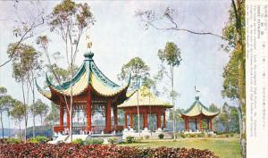 Taiwan The Three Pavilions Representing Luck High Position and Longevity