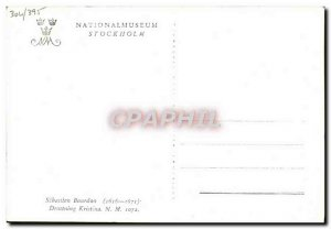 Postcard Old Nationalmuseum Stockholm Kristina