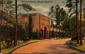Virginia Newport News Mariners' Museum 1948
