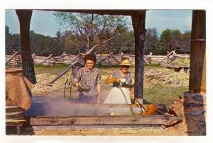 Sorghum Molasses Making Demonstration In Cades Cave, Great Smoky Mountains Na...
