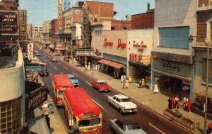 Norfolk VA Norva Theatre:Nun's Story~Art Deco People's Drugs~City Buses 1959
