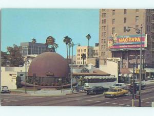Pre-1980 HACIENDA CASINO BILLBOARD ON LOS ANGELES STREET Las Vegas NV B8294