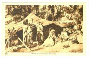 Campement de Nomades, Algeria, 1910-30s