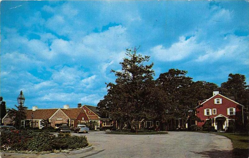 Massachusetts  Falmouth   Coonamesset Inn Restaurant Hotel