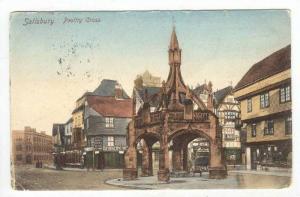 Salisbury, UK, PU-1904  Poultry Cross