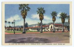 La Casa Del Mar Motel, 28 W Cabrillo Blvd, Santa Barbara, California, CA, Linen