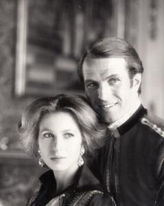 Princess Anne & Mark Philips Royal Wedding London UK Press Photo