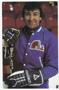 QUEBEC, Canada, 1960´s; Hockey Associate Coach Guy Lapointe, Les Nordiques