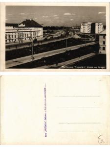 CPA WARSZAWA Widok na Prage. POLAND WARSAW (289505)