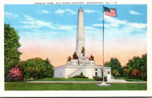 Illinois Springfield Oak Ridge Cemetery Lincoln Tomb