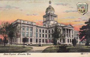 Nebraska Lincoln State Capitol 1906