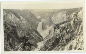 RP of Grand Canyon & Yellowstone Falls Wyoming WY