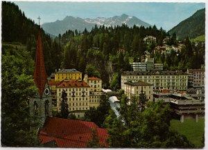 Austria, Weltkurort Badgastein, 1083 m, 1975 used Postcard