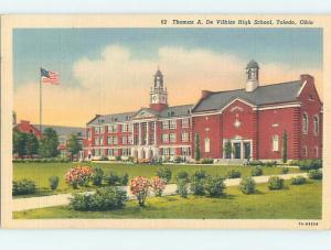 Linen HIGH SCHOOL Toledo Ohio OH k0348