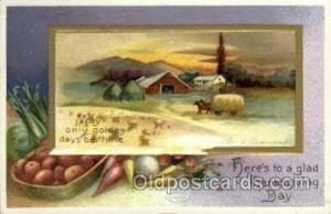 Artist Ellen Clapsaddle, Thanksgiving Postcard Post Cards