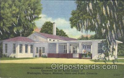 Moosehaven, Florida, USA Fraternal Moose Club, Postcard Post Card  moosehaven...