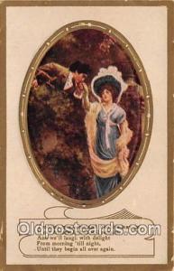 Couples Romance Vintage Postcard Couples Romance Vintage Postcard