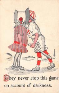 Cobb Shinn Baseball Comic~Never Stop This Game for Darkness~Kiss in Sunbonnet