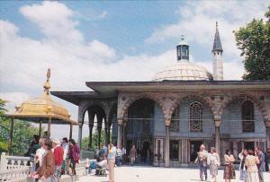 Turkey Istanbul Topkapi Sarayi kapisi