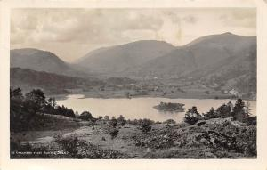 Grasmere from Hunting Stile Lac Panorama Island Lake