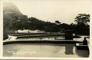 china, HONG KONG, Bowen Road, Filter Beds (1930s) RPPC