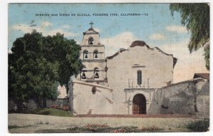 Mission San Diego De Alcala, Founded 1769