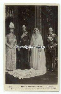 r2251 - H.R.H.Princess Mary & Viscount Lascelles Family Wedding Group - postcard