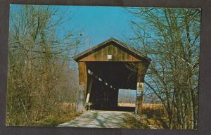 Covered Bridge - McMillan Bridge Over Bean Bloss Creek