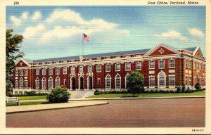 Maine Portland Post Office 1941 Curteich