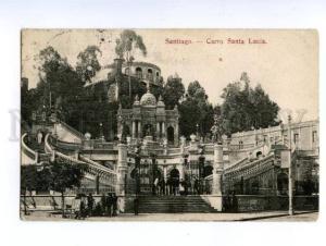 138720 Chile SANTIAGO Cerro Santa Lucia Hill Vintage PC