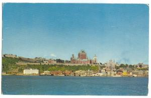 Canada, General view, City of Quebec, 1950s used Postcard