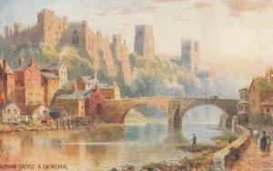 DURHAM, England, United Kingdom, 00-10s ;  Castle & Cathedral, TUCK #8949