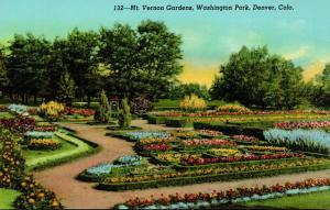 Colorado Denver Washington Park Mt Vernon Gardens