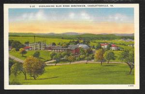 Blue Ridge Sanatorium Charlottesville VA unused c1930s