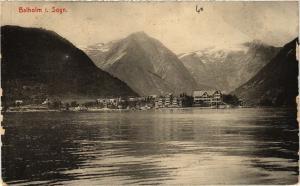 CPA AK NORWAY-Sogn-Balholm (333868)