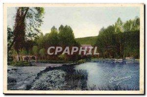 Postcard Old Clecy La Suisse Normande Orne and the Moulin de Vey