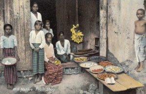 Native Fruit Shop , CEYLON , 00-10s