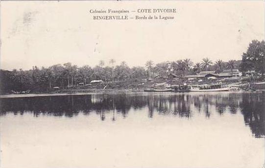 Cote D'Ivoire Ivory Coast Bords de la Lagune 1911
