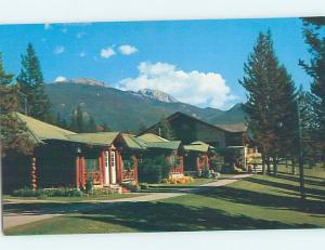 Unused Pre-1980 LAKESHORE COTTAGES AT LODGE Jasper Park Alberta AB c2522