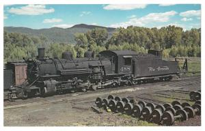 Denver Rio Grande Western Railroad K36 2-8-2 Locomotive 488