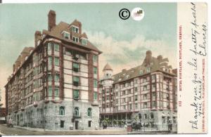 Undivided Back Postcard, Hotel Portland, Portland Oregon, Vintage Card
