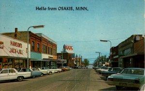 Osakis, Minnesota - The Hanson's Jack & Jill - downtown - in the 1950s