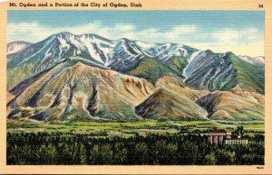 Utah Mount Ogden and Portion Of The City Of Ogden