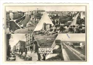 Saluti da LIVORNO, Italy, PU-1950