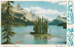 MALIGNE LAKE , Alberta , Canada , 1965