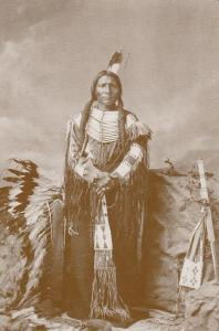 Little Big Man Ogalalla Dakota Sioux Red Indian Western Postcard